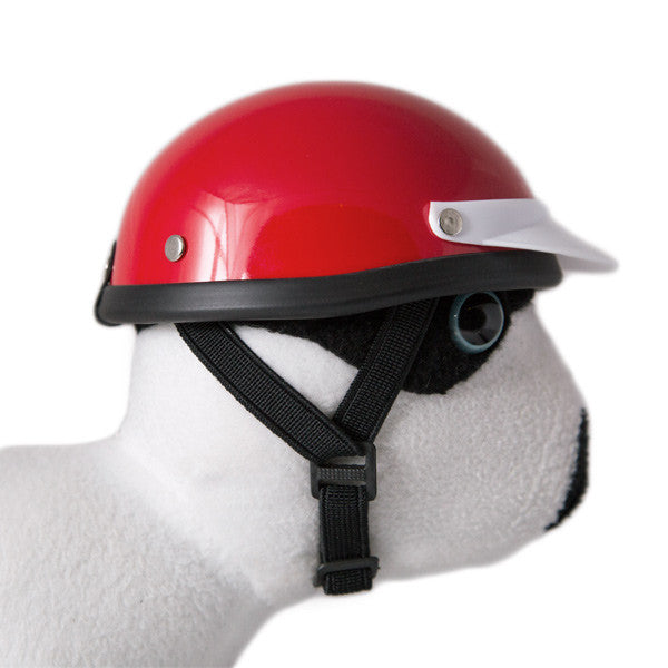 Red - Dog Helmet