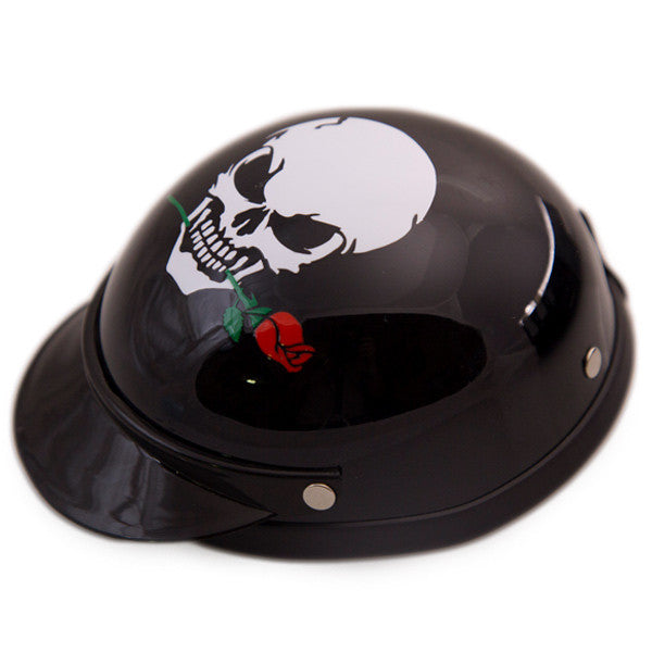 Dog Helmet - Skull Rose - Main