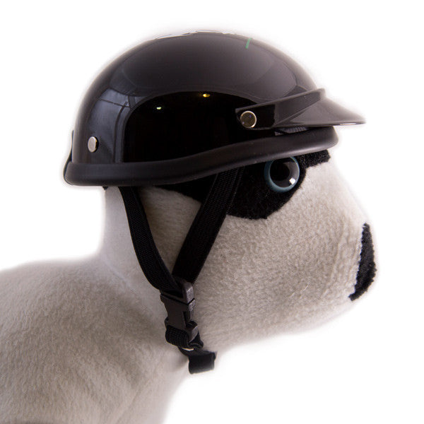 Dog Helmet - Skull Rose - Strap