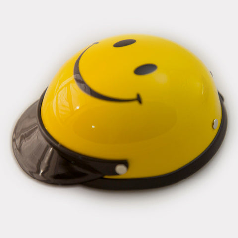 Dog Helmet - Smiley Face - Main