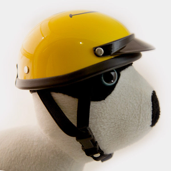 Dog Helmet - Smiley Face - Strap