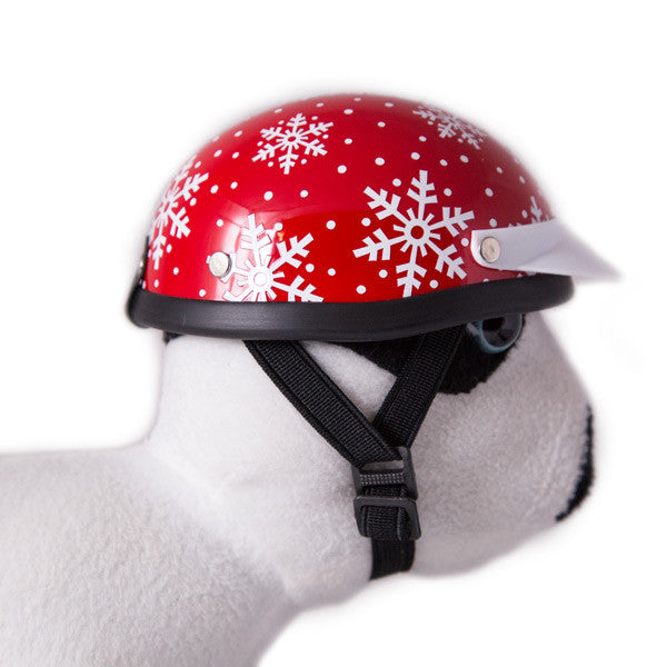 Dog Helmet - Christmas - Strap