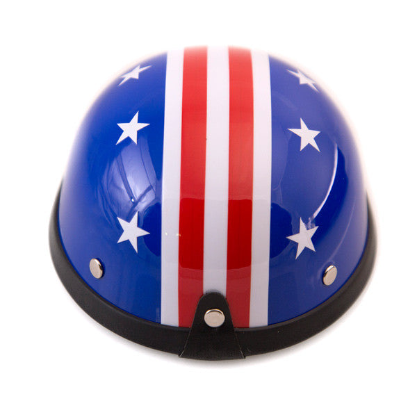 Dog Helmet - Star and Stripes - Back View