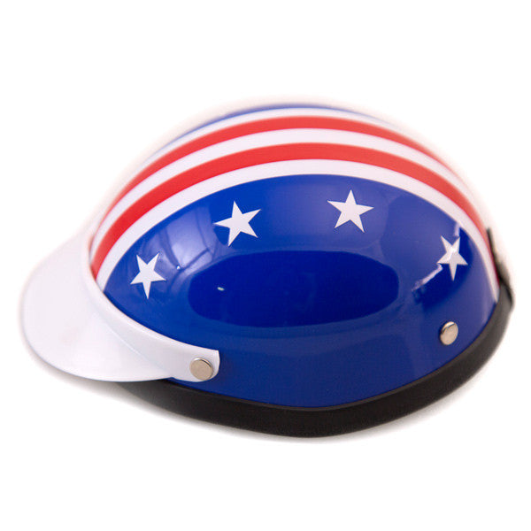 Dog Helmet - Star and Stripes - Side View