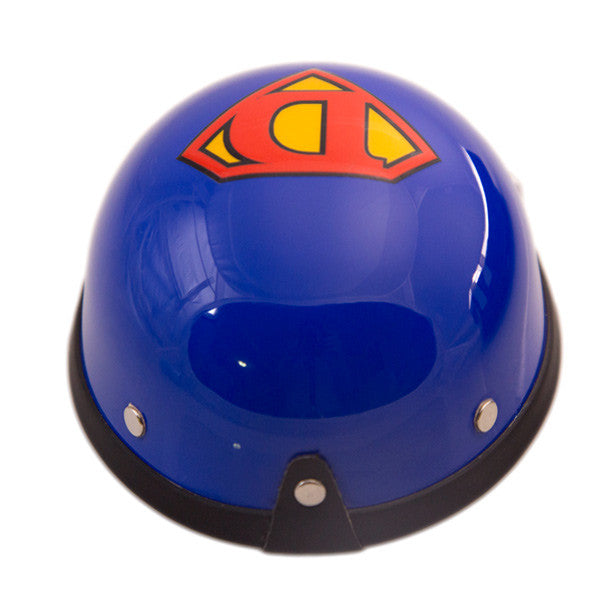 Dog Helmet - Super Dog- Back