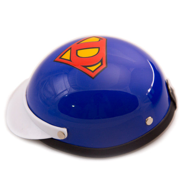 Dog Helmet - Super Dog - Side