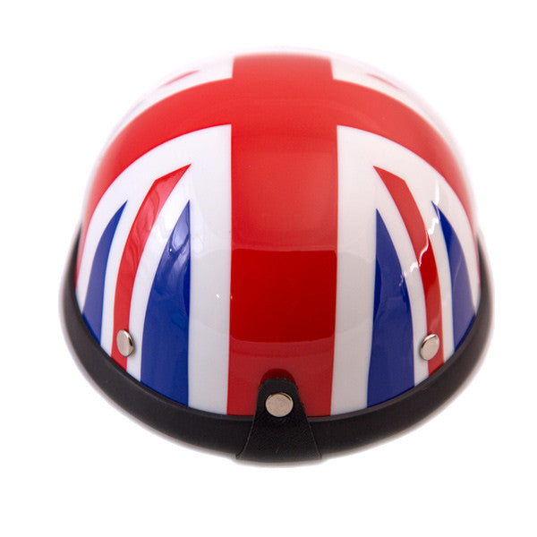 Dog Helmet - Union Jack - Back