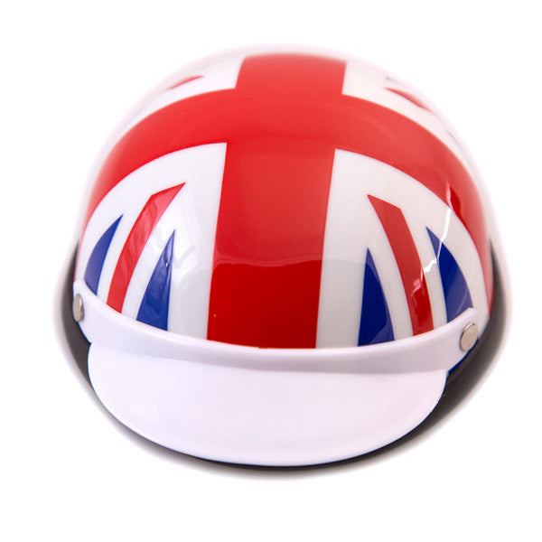 Dog Helmet - Union Jack - Front