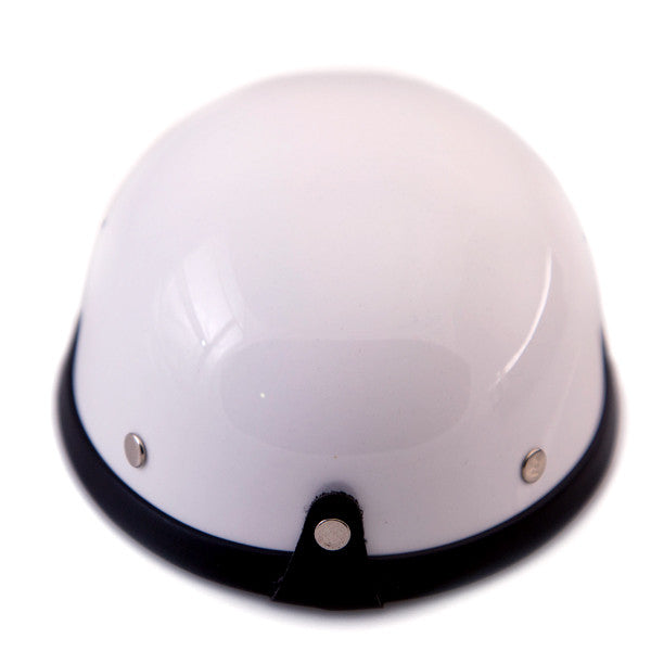 Dog Helmet - White - Back
