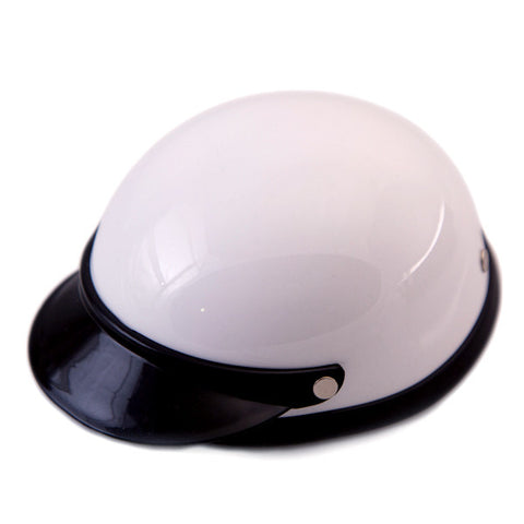 Dog Helmet - White - Main