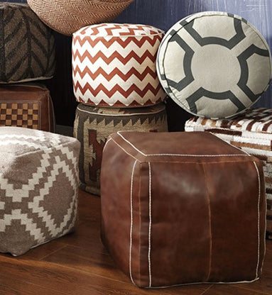 Free Shipping on Accent Ottomans & Poufs