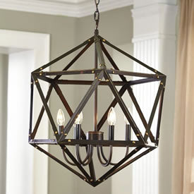In-Stock Now! Fadri Antique Brown Pendant Light $289.99