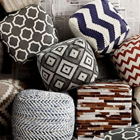 The Latest Trend in Interiors, Poufs are In-Stock!