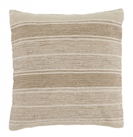 Biddleferd Beige Accent Pillow