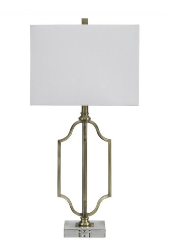 Arabella Antique Brass Table Lamp