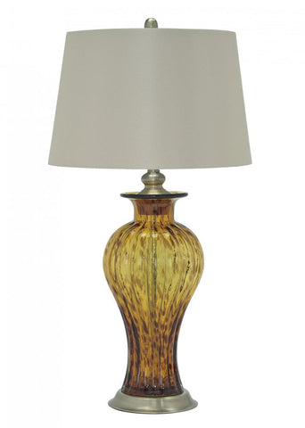 Ardal Amber Table Lamp