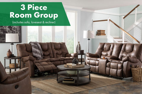 Burgett Espresso 3 Piece Room Group