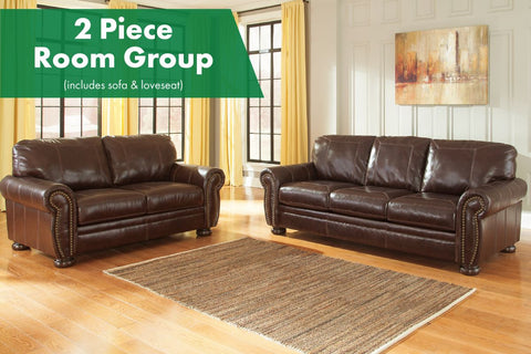 Banner Coffee 2 Piece Living Room Set