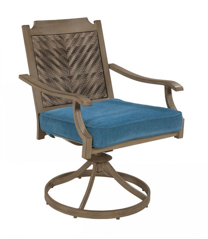 Partanna Patio Swivel Chairs (Set of 2)