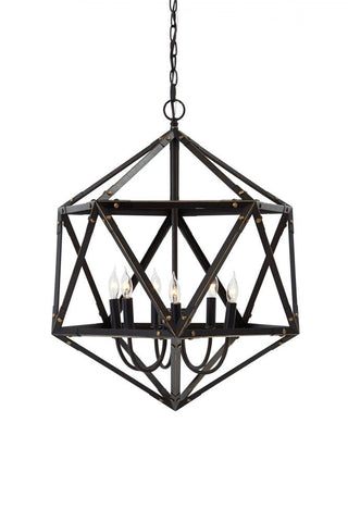 Fadri Antique Brown Pendant Light
