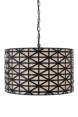 Damali Black Pendant Light