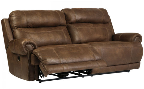 Austere Brown Reclining Power Sofa