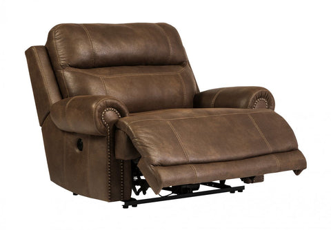 Austere Brown Power Recliner