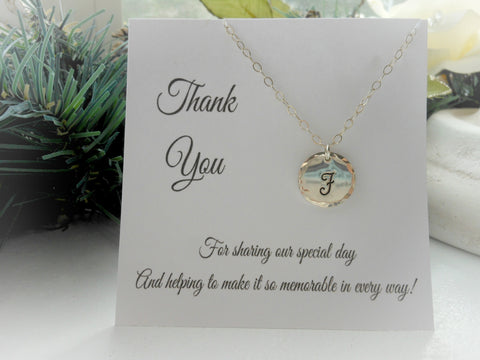 personalized necklace, bridesmaid gift, custom stamped necklace, maid of honor sister gift, personalized gift