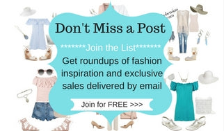 VIP List, email sign up, join the list, fashion list, fashion blog