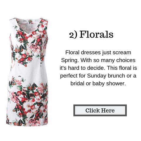 floral dress, affordable Spring dresses