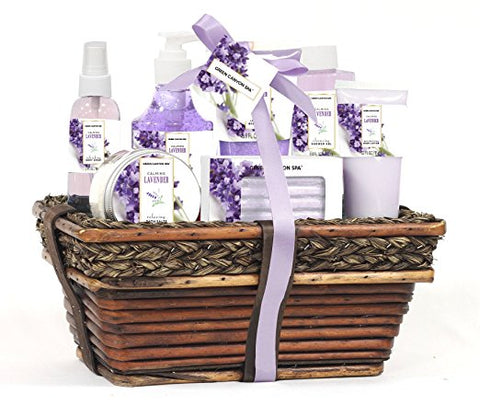 gift basket, spa set, Mothers Day