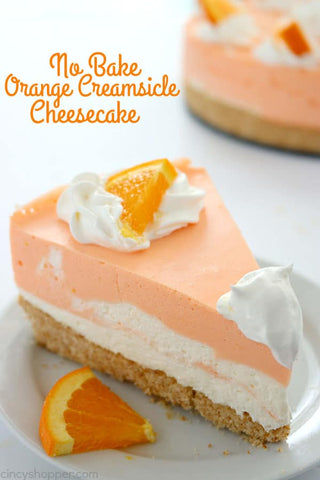 orange creamsicle pie, Summer dessert