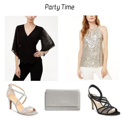 formal fashion, party outfit