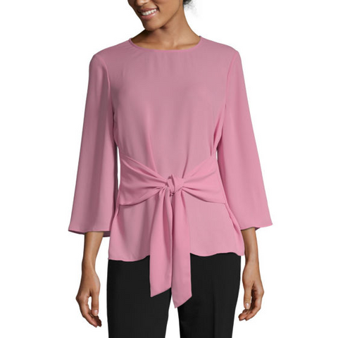 pink blouse, affordable Spring fashion, Spring style