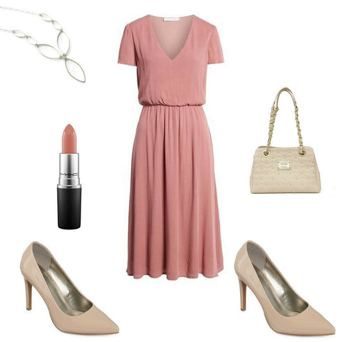 professional style, dress for success, midi dress, work clothes, office fashion