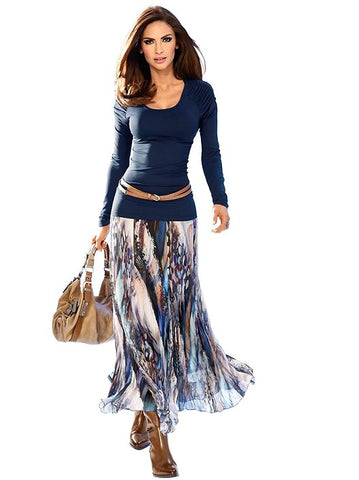 long skirt, bohemian, women fall clothes, boho style, Fall fashion trends