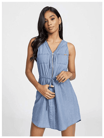 casual dress, Summer Dress, denim dress