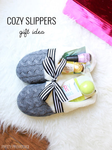 slippers for mom, Mothers Day gift ideas, Fabulous Creations blog