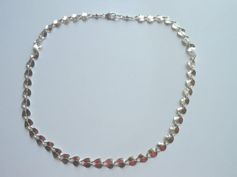 Petal Choker Necklace in Sterling Silver