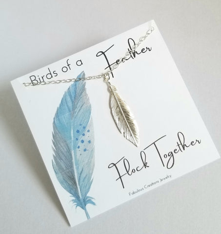 Birds of a feather flock together, gift for best friend
