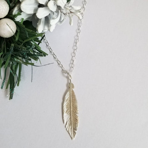 boho feather necklace for women