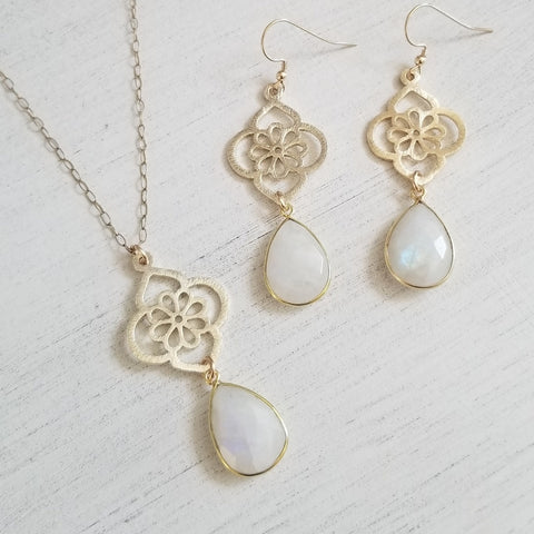 Handmade Moonstone Jewelry for her