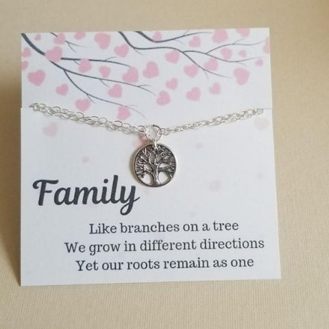Bracelet Gift for Moms-Family Tree Bracelet
