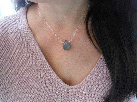 birthday gift for women, healing crystal jewelry, positive energy stone necklace