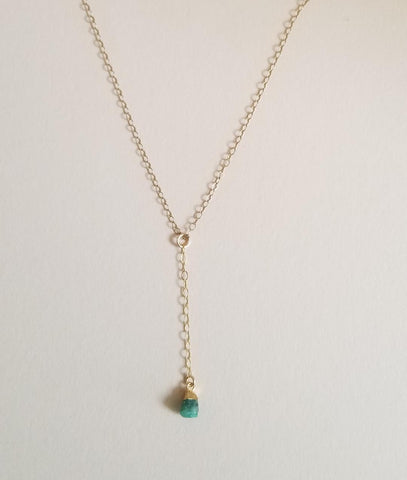 birthstone necklace, boho style jewelry, delicate gold necklace
