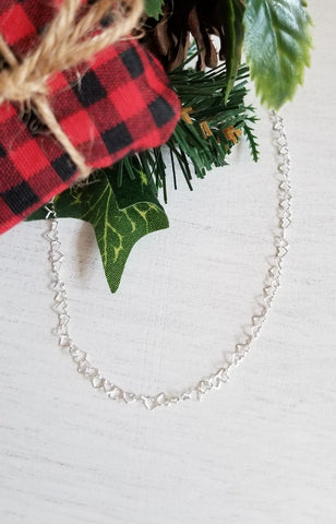 simple chain necklace, everyday  necklace, gift for mom