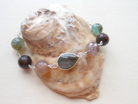 statement bracelet, gemstone bracelet