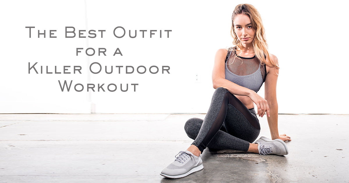 The Best Outfit for a Killer Outdoor Workout | Vionic and Public Myth