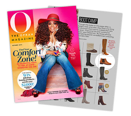 Vionic Nadelle Boot Featured in O, The Oprah Magazine