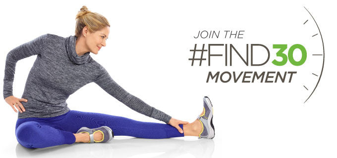 Join the #Find30 Movement
